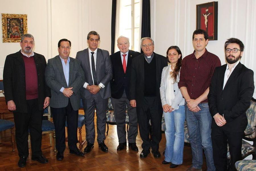 El grupo de amistad con la Santa Sede se reunió con el titular de la Conferencia Episcopal Argentina