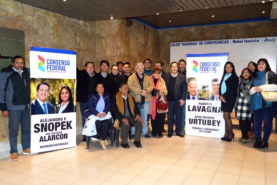 Consenso Federal Jujuy inaugura sede en la capital jujeña