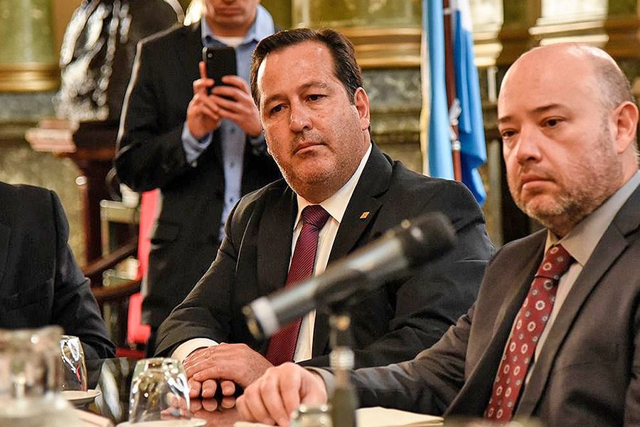 Alejandro Snopek participó de mesa de trabajo con el asesor de la oficina de Libertad Religiosa del departamento de estado de los Estados Unidos