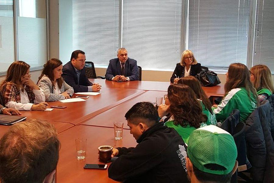 El bloque del Frente Renovador se reunió con trabajadores del ex ministerio de Agroindustria y de la subsecretaria de Agricultura Familiar