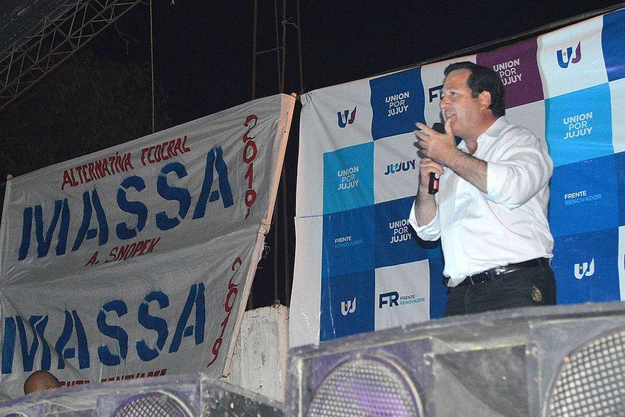 """""""Unión Por Jujuy"""" trabajará junto a Massa en la construcción de una alternativa federal al Gobierno nacional"""